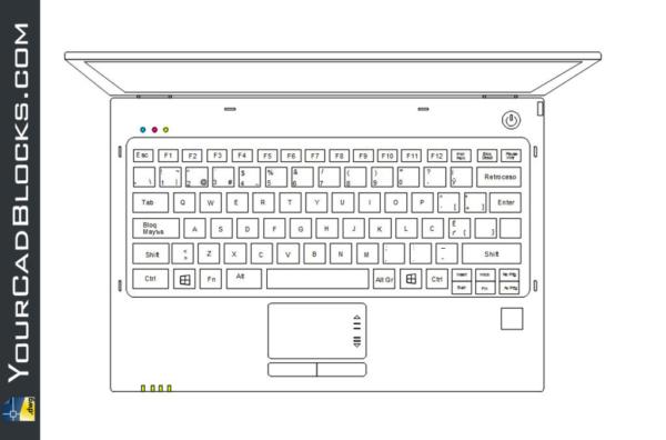 Laptop dwg cad