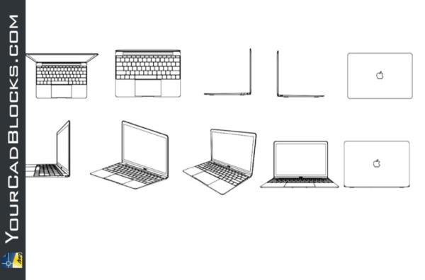 MacBook dwg in Autocad free